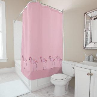 Flamingo-Duschvorhang Duschvorhang