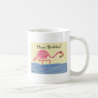 Flamingo-Geburtstag Kaffeetasse