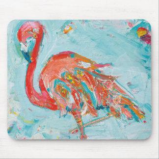 Flamingo hell mousepad
