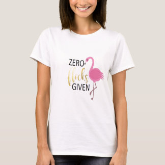 Flamingo-Kleid T-Shirt