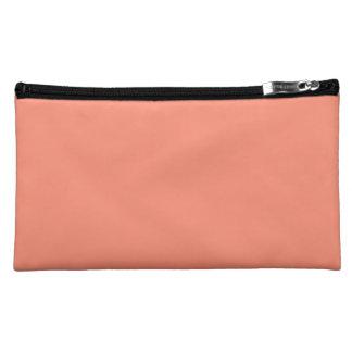 Flamingo-korallenroter Pfirsich Melone-Im Norden Makeup-Tasche