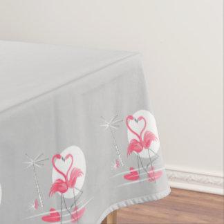 Flamingo-Liebe-Grenztischdecke 50x72 Tischdecke