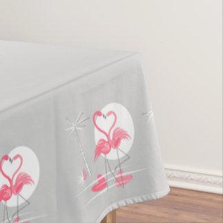 Flamingo-Liebe-Grenztischdecke 60x84 Tischdecke