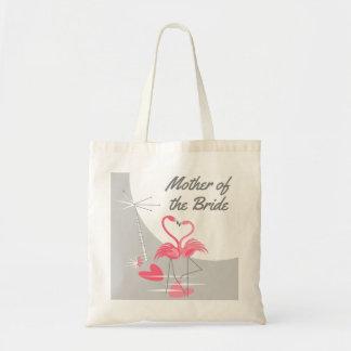 Flamingo-Liebe-große Mond-Mutter der Braut-Tasche Tragetasche