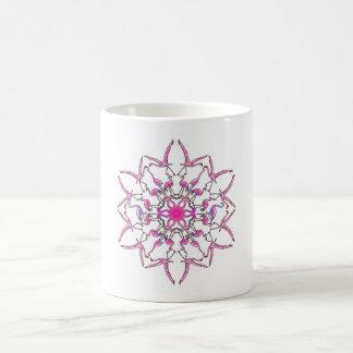 Flamingo-Mandala Kaffeetasse