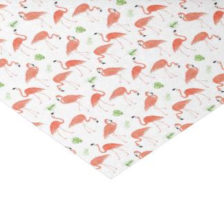 Flamingo-Muster-Aquarell-Seidenpapier Seidenpapier