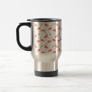 Flamingo-MusterWatercolor Steele Tasse