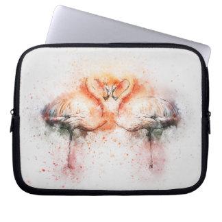 Flamingo-Neopren-Laptop-Hülse 10 Zoll Laptopschutzhülle