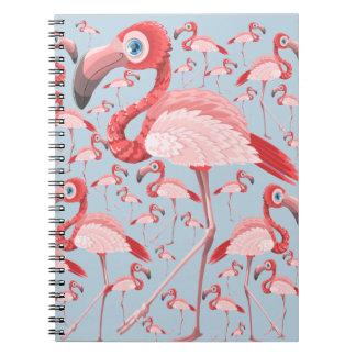 Flamingo Notizblock