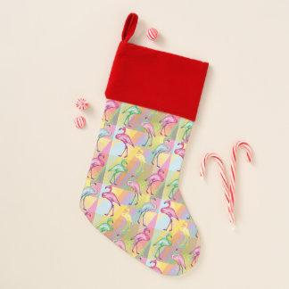 Flamingo-Parade Weihnachtsstrumpf
