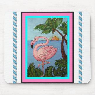 Flamingo-Paradies-Mausunterlage Mousepad