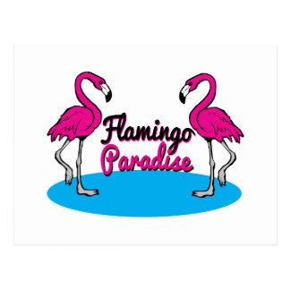 Flamingo-Paradies Postkarten