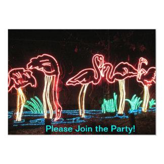 Flamingo-Party Einladungen