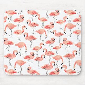 Flamingo-Party Mousepad