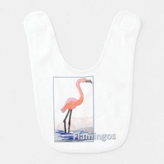 Flamingo-Schellfisch Lätzchen