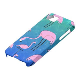 Flamingo-Teich iPhone 5 Hülle