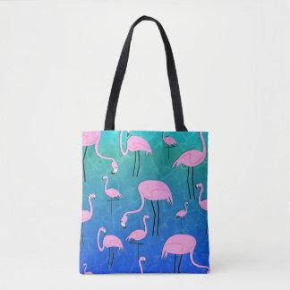 Flamingo-Teich Tasche