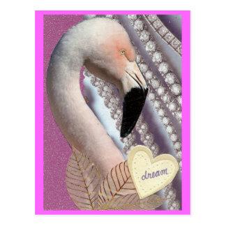 Flamingo-Traum Postkarten