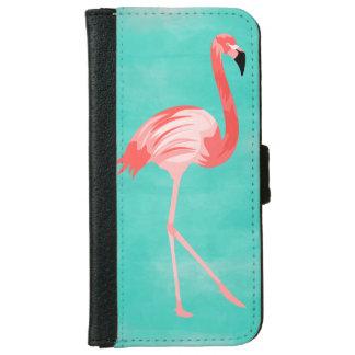 Flamingo-Vogel Geldbeutel Hülle Für Das iPhone 6/6s