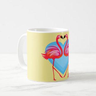 Flamingo-Vögel Kaffeetasse