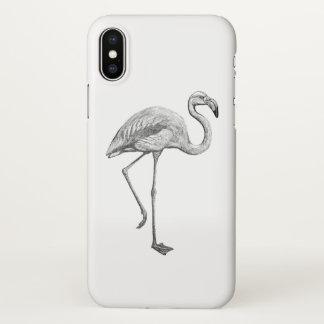 Flamingofall iPhone X Hülle