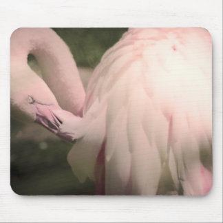 Flamingofedern Mousepads