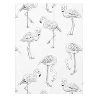 Flamingomuster Tischdecke