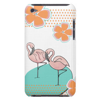 FlamingoPoolside Case-Mate iPod Touch Case