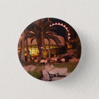 Flamingos, Las Vegas Keychain Runder Button 2,5 Cm