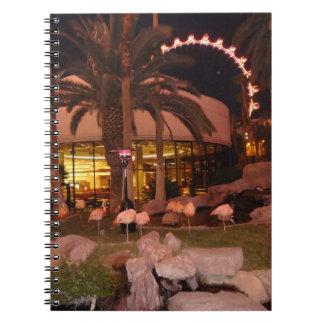 Flamingos, Las Vegas-Notizbuch Notizblock