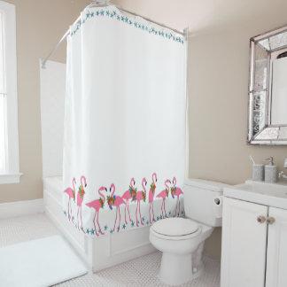 Flamingosn Starfish-Strand-Bad-Duschvorhang Duschvorhang