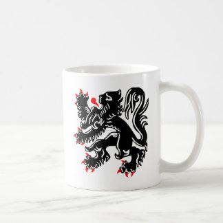 Flämischer Löwe Kaffeetasse