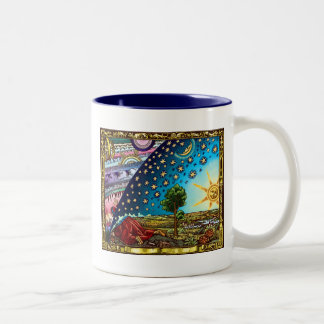 Flammarion Hauben-Tasse!! FANTASTISCH Zweifarbige Tasse