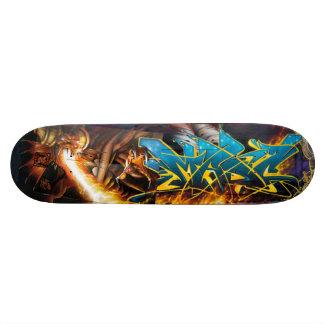 Flamme an! in Durins Kerker - Plattform der Skateboardbretter