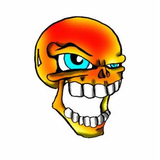 Flamme skull2 photofiguren