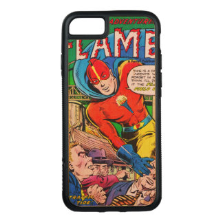 Flammen-Comicen Carved iPhone 8/7 Hülle