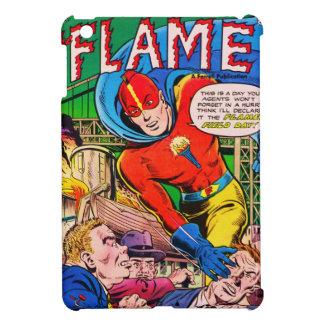 Flammen-Comicen iPad Mini Hülle