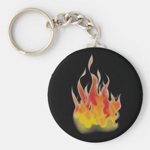 Flammen-Schlüsselkette Schlüsselanhänger