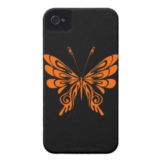 Flammen-Schmetterlings-Tätowierung iPhone 4 Etuis