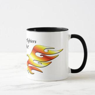 Flammen-Tätowierung Tasse