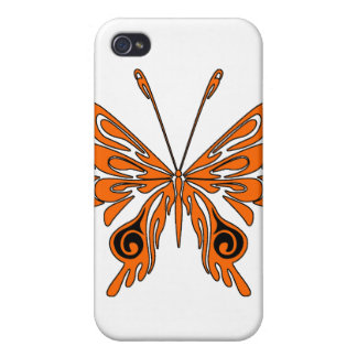 Flammen-Tätowierungs-Schmetterling Schutzhülle Fürs iPhone 4
