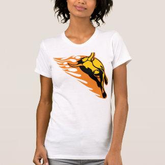 Flammender Stier #2 T-Shirt
