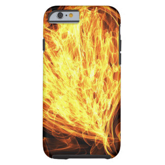 Flammenkunst Tough iPhone 6 Hülle