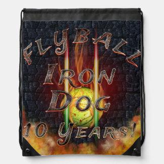 Flamz Flyball Eisen-Hund - 10 Jahre Wettbewerb! Sportbeutel