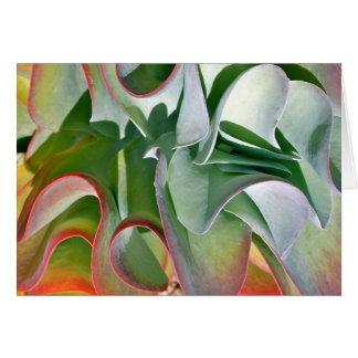 Flapjack-Pflanzen-Anmerkungskarte durch Debra-Lee Karte