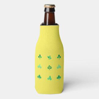 Flasche cooler mit neun Klee-Blätter Flaschenkühler