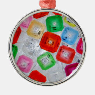 Flaschen 1 silbernes ornament
