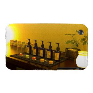 Flaschen Aromatherapie ölen im Schönheitssalon, iPhone 3 Hüllen