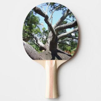 Flaschen-Baum-Klingeln Pong Paddel Tischtennis Schläger