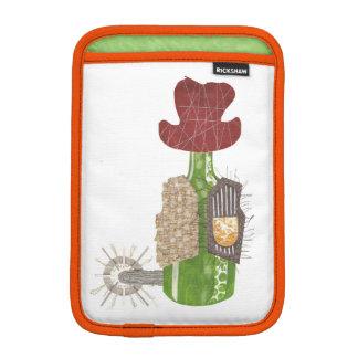 Flaschen-Cowboy Ich-Auflage Minihülse Sleeve Für iPad Mini